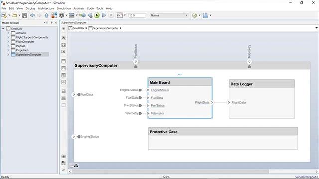 观看如何利用 System Composer 组件创建 Simulink 行为模型,以及如何利用现有 Simulink 模型创建 System Composer 组件。