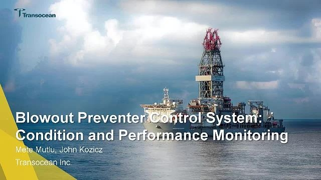 Transocean 使用自适应物理模型、信号处理和优势分析,在 Simscape 中监视海底防喷器 (BOP) 的性能。