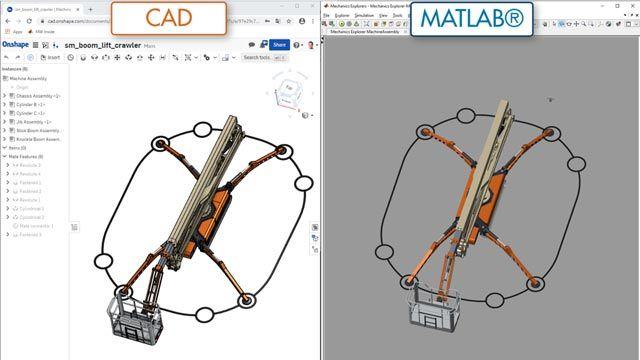 悬臂式升降机,CAD 导入