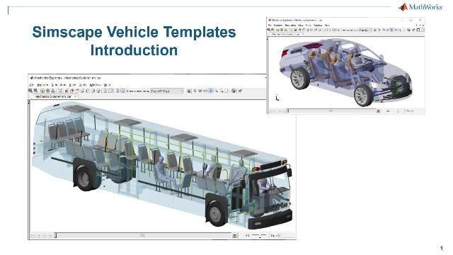 初步了解 Simscape 车辆模板。这些模板提供一个可配置的车辆模型、一个可自定义的组件库,以及一个用户界面,您可以在该界面中自定义车辆和希望运行的事件。