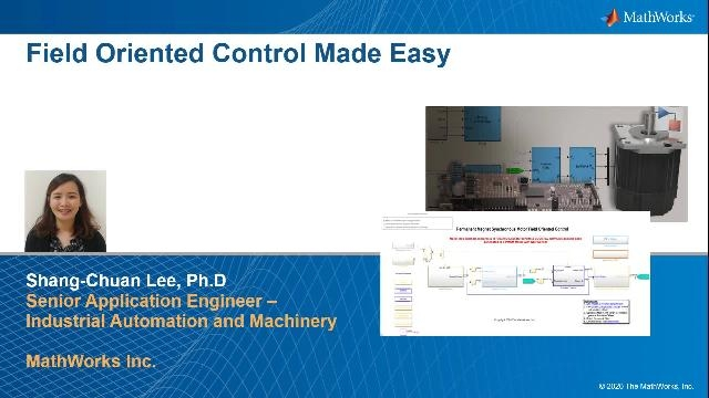 Field-Oriented Control of PMSMs with Simulink