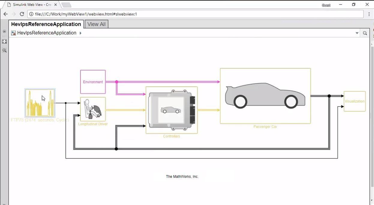 从 Simulink 模型创建交互式指南
