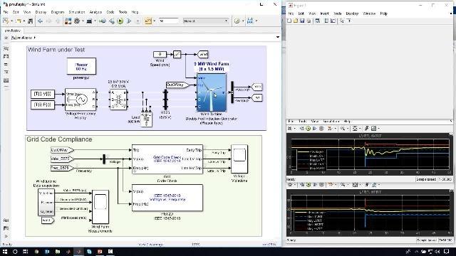 此网络研讨会展示了如何使用 Simscape Electrical,评估高渗透率可再生能源的电力系统的性能。