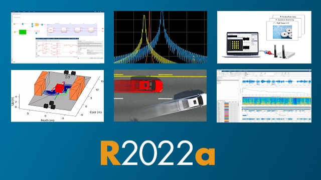 Release 2020a offers hundreds of new and updated features and functions in MATLAB® and Simulink®, along with four new products.