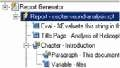 Use a report setup file to evaluate MATLAB expressions and generate a report.