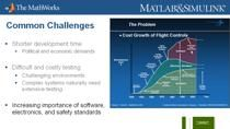 Model-Based Design for Small and Mid-Sized Aerospace Companies The trend in the Aerospace Industry is towards more complex multi-domain products and applications. Single systems and components often contain mechanical, electrical, hydraulic, communic